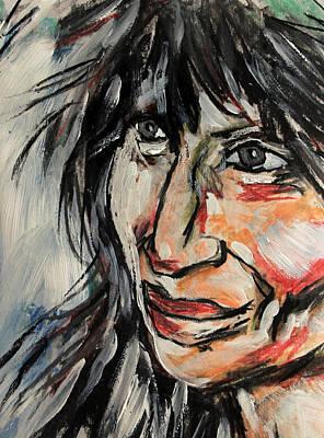 Painting - apellanizi Portrait by Jim Vance