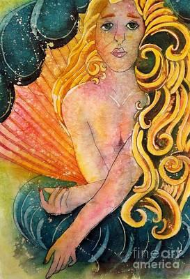 Painting - Aphrodite #2 by Carol Losinski Naylor