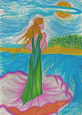 Aphrodite Venus Art Print by First Star Art