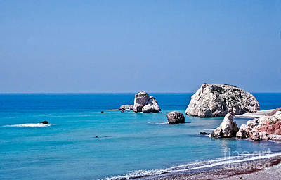 Beach Photograph - Aphrodite's Birthplace by Liz Leyden