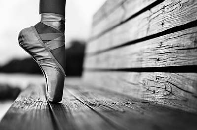Pointe Shoes Photograph - Aplomb by Laura Fasulo