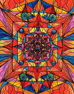 Allopathic Painting - Aplomb by Teal Eye  Print Store