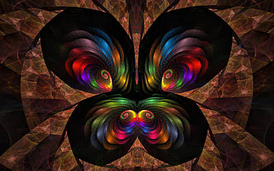 Apo Butterfly Art Print by GJ Blackman
