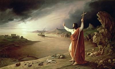 Apocalypse, 1831 Art Print by Ludwig Ferdinand Schnorr von Carolsfeld