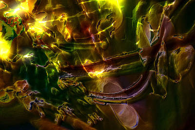 Digital Art - Apocryphal - Tilting From Beastback by Richard Thomas