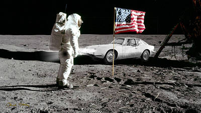 Photograph - Apollo 11 And Lost Driver by Chuck Staley