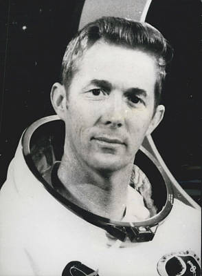 Apollo 14 Astronaut Stuart Roosa - Apollo 14 Command Module Art Print by Retro Images Archive