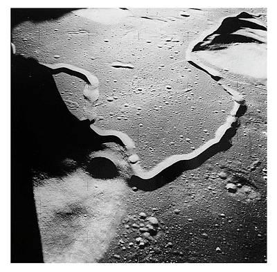Apollo 15 Landing Site Art Print