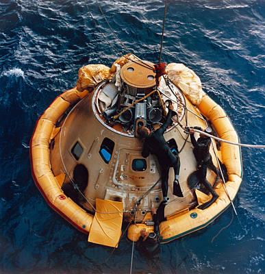 Apollo 6 Recovery, 1968 Art Print