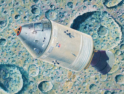 Painting - Apollo 8 by Douglas Castleman