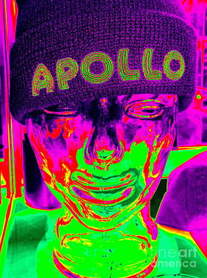 Apollo Theater Digital Art - Apollo Abstract by Ed Weidman