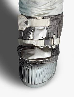 Human Survival Photograph - Apollo Astronaut Boot by Detlev Van Ravenswaay