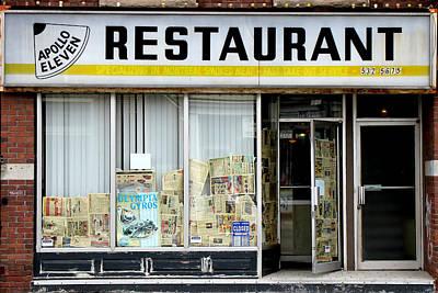 Photograph - Apollo Eleven Restaurant by Andrew Fare