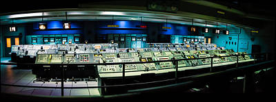 Photograph - Apollo Mission Control by Alan Marlowe