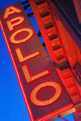 Harlem Photograph - Apollo Nights by James Kirkikis