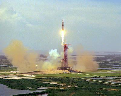 Apollo Soyuz Test Project Launch Print by Nasa