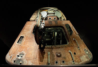 Photograph - Apollo Space Capsule by John Black