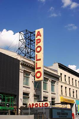Apollo Theater Photograph - Apollo Theater by Martin Jones