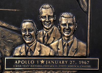 Photograph - Apollo1 Memorial Detail by David Lee Thompson