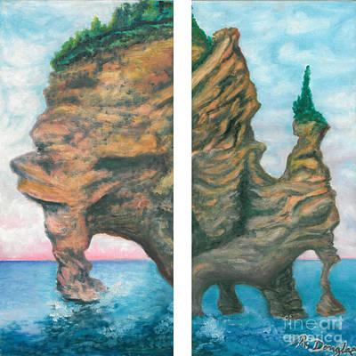 Painting - Apostle Island by Ronda Douglas