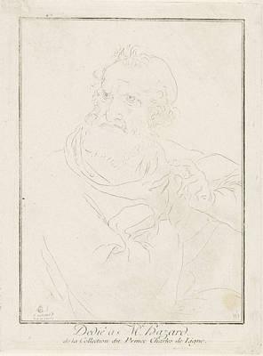 Ligne Drawing - Apostle Paul, Charles Joseph Emmanuel De Ligne by Charles Joseph Emmanuel De Ligne And M. Hazard