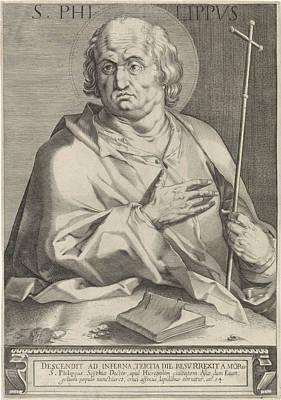 Apostle Philip, Egbert Van Panderen Art Print by Quint Lox