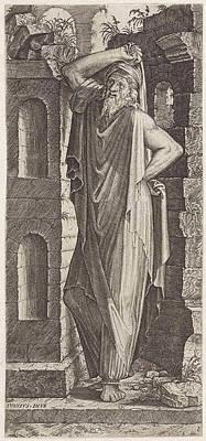 Hip Drawing - Apostle Philip, Lambertus Suavius by Lambertus Suavius