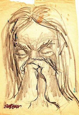 Sethweaver Drawing - Apostle's Prayers by Seth Weaver