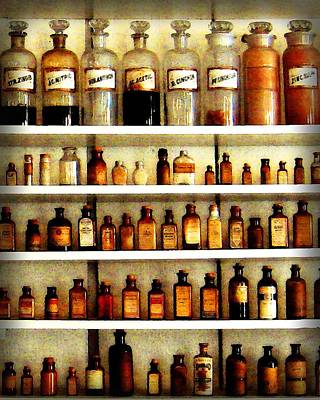 Photograph - Apothecary 2 by Timothy Bulone