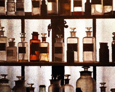 Photograph - Apothecary 3 by Timothy Bulone
