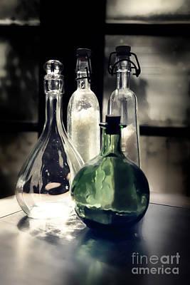 Photograph - Apothecary Bottle by Danuta Bennett