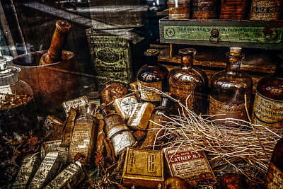 Photograph - Apothecary  by Melinda Ledsome