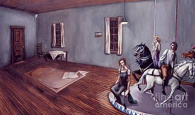 Appalachian Carousel Art Print