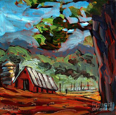 Appalachian Mountains Painting - Appalachian Deep by Charlie Spear
