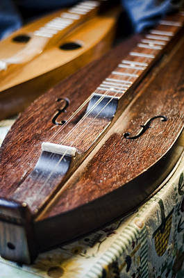 Photograph - Appalachian Dulcimer by Heather Applegate