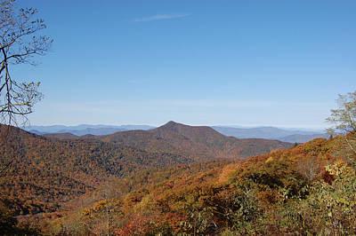 Photograph - Appalachian Fall - Mountains by rd Erickson