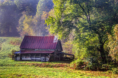Appalachian Farmland Art Print