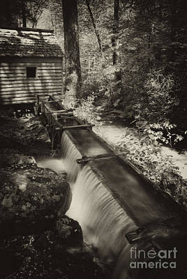 Photograph - Appalachian Grist Mill And Water Trough by Paul W Faust -  Impressions of Light