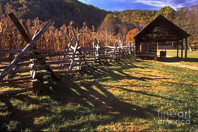 Photograph - Appalachian Mountain Farm by Paul W Faust -  Impressions of Light