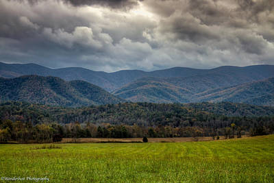 Photograph - Appalachian Mountain Range Gsmnp by Paul Herrmann