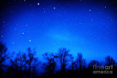 Appalachian Starry Night Art Print