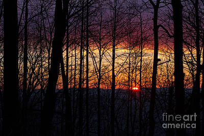 Photograph - Appalachian Sunrise by Paul Rebmann
