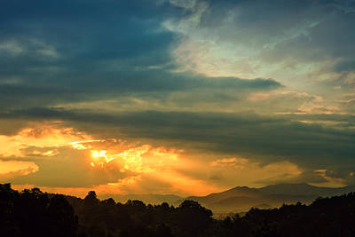 Photograph - Appalachian Sunset by William Schmid
