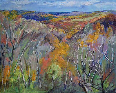 Wald Painting - Appalachian Trail by Michael Creese
