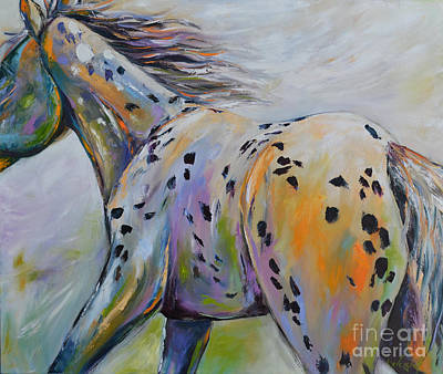 Painting - Appaloosa Bliss by Cher Devereaux