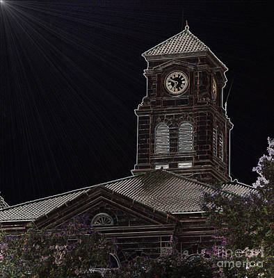 Photograph - Appanoose County Courthouse by  Kathy Cornett