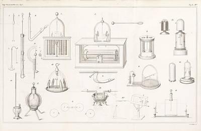 Apparatus For Conductivity Experiments Art Print
