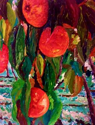 Painting - Appealing Peach by Ray Khalife