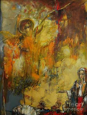 Expressionism Painting - Appearance  by Grigor Malinov