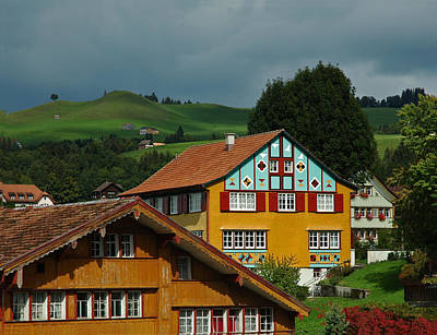 Photograph - Appenzell Famous Windows by Ginger Wakem